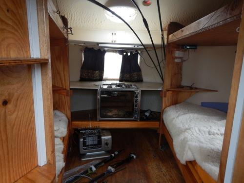 inside hut