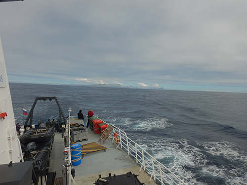 last view of subantarctic